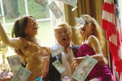 Alison Jackson, 'Trump Money', 2016