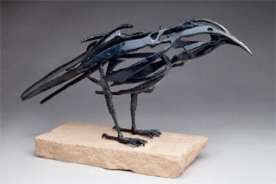 Al Glann, 'Small Raven', 2018