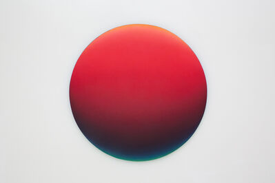 Jan Kaláb, 'Red Gradient 1242pm', 2018