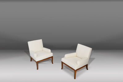 T.H. Robsjohn-Gibbings, 'Pair of armchairs by Robsjohn Gibbings , 40's ', ca. 1950