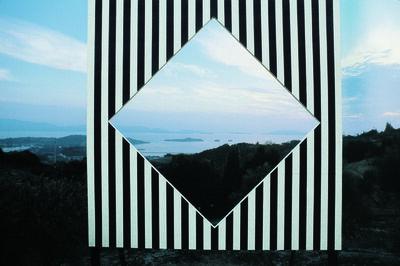Daniel Buren, 'Photo-souvenir : Sha-Kkei ou Emprunter le paysage, travail in situ, Ushimado (Japon). Détail. ', 1985