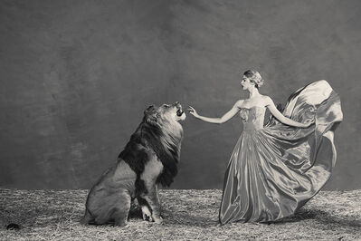 Tyler Shields, 'Lady and the Lion', 2019