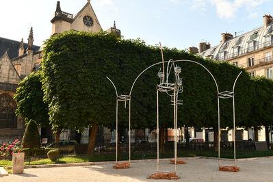 Juan Garaizabal, 'Tour de l'horloge du palais disparu des Tuileries 2', 2021