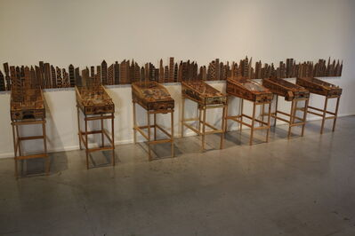 Abel Barroso, 'Pinball del Emigrante', 2012