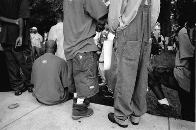 Jamel Shabazz, 'Invisible Men', ca. 1980's