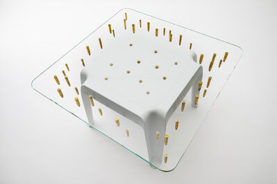 Design Da Gema, 'Bulletproof Side Table', 2013