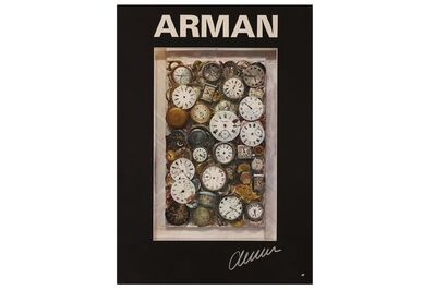 Arman, 'Signed Poster', 1960