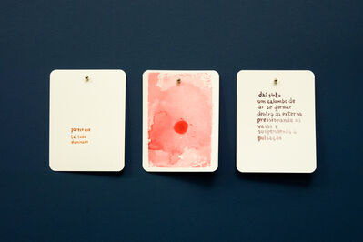 Maíra das Neves, 'GMA (Baralho Urgência) - da série Um lance de Cartas [GMA (Urgency Cards) - A Trow of Cards series', 2013