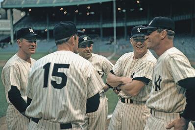 Marvin E. Newman, 'Baseball Players, New York Yankees', 1955