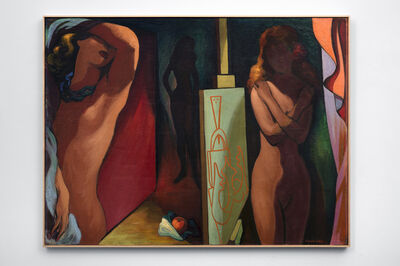 Lorser Feitelson, 'Allegory of the Golden Apple', 1943