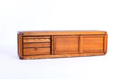 Pierre Chapo, 'BEL sideboard in elm', vers 1970