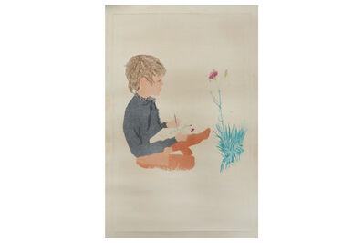 Patrick Procktor, R.A., 'Boy with carnation'