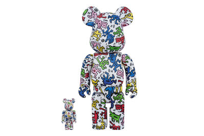 BE@RBRICK, 'KEITH HARING 100% + 400% (DANCING PEOPLE)', 2018