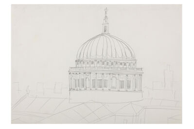 Stephen Wiltshire, 'Medium Drawing St. Pauls Cathedral'