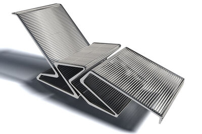 Oyler Wu Collaborative, 'Outdoor Chaise', 2012