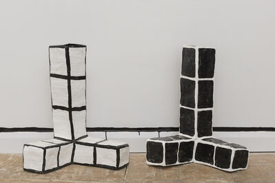 Allegra Pacheco, 'Three Pronged Stacks', 2015