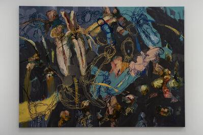 Angel Ricardo Ricardo Ríos, 'Una noche, sin jardin con Alicia y los dos conejos', ca. 2019