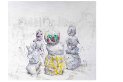 Martina Muntzing, 'Sista snön', 2020