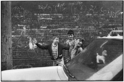 Henri Cartier-Bresson, 'Three Juveniles, Montreal, Canada', 1964