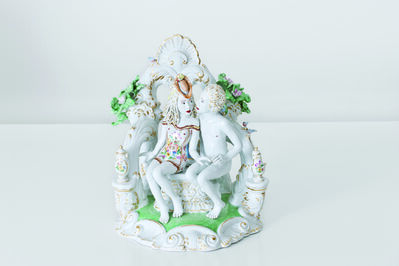 Chris Antemann, 'Secluded Kiss [Courtesy MEISSEN COUTURE® Art Collection]', 2013