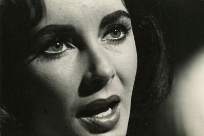 Burt Glinn, 'Elizabeth Taylor on the set of »Suddenly, Last Summer«, Shepperton Studios, London', 1959