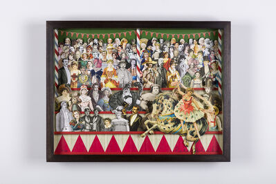 Peter Blake, 'Circus Collage Right ', ca. 2013