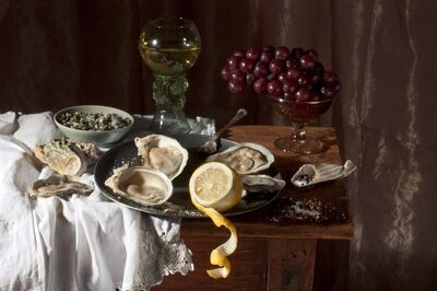Paulette Tavormina, 'Oysters, after W.C.H.', 2008