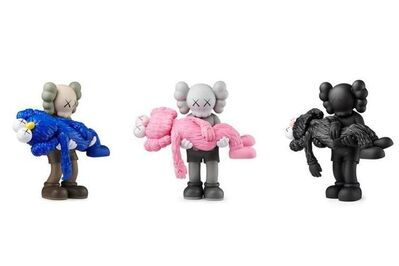 KAWS, 'KAWS, Gone (Set of three), 2019', 2019