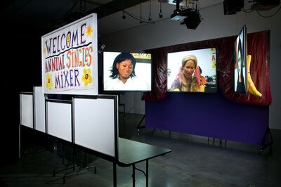 Mike Kelley, 'Extracurricular Activity Projective Reconstruction #8 (Singles' Mixer)', 2004-2005