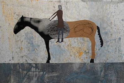 Holly Roberts, 'Awkward Rider', 2018