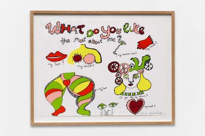 Niki de Saint Phalle, 'What do you like most about me?', 1970