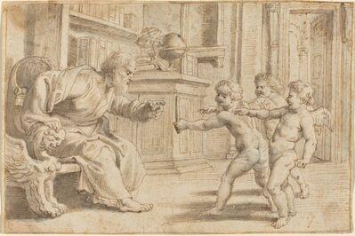 Peter Paul Rubens, 'Putti Testing a Man's Perception of Depth', ca. 1613