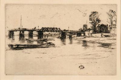 James Abbott McNeill Whistler, 'Chelsea', 1878-79