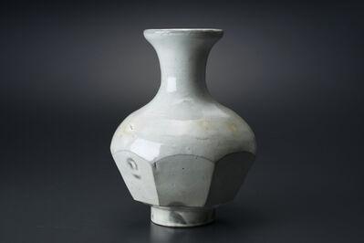 Masaya Yoshimura, '粉引面取花生', 2013