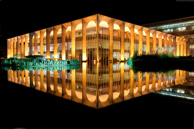 Andrew Prokos, 'Palacio do Itamaraty at Night, Brasilia', 2015