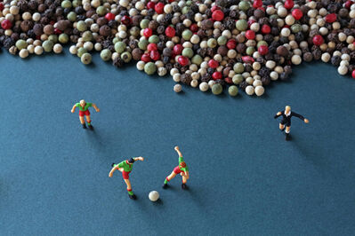 Christopher Boffoli, 'Peppercorn Soccer', 2013