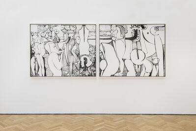 Ibrahim El-Salahi, 'Reborn Sounds III', 2015