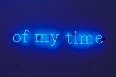 Joseph Kosuth, ''J.J.(F.W.#49) [Cobalt Blue],', 2009
