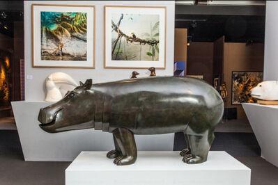 Daniel Daviau, 'Young Hippopotamus, monumental model', 2016