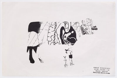 Paulo Bruscky, 'Visual Cow Poem I, II, III, IV, V', 1997