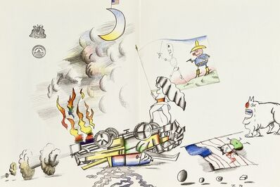 Saul Steinberg, 'Saul Steinberg lithograph ', ca. 1970