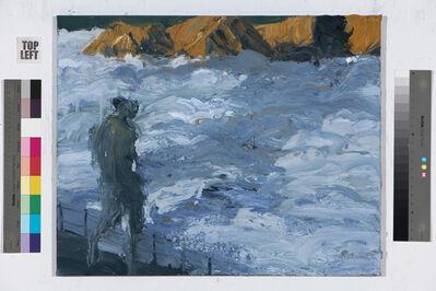 Euan Macleod, 'Figure, fence, fog', 2018-19