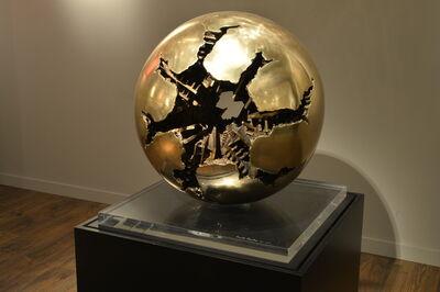 Arnaldo Pomodoro, 'Sfera con perforazione', 1966