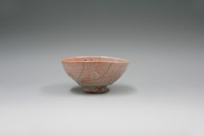 Yui Tsujimura, 'Tea bowl, Ido style, fixed using Kintsugi'
