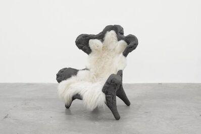 Joep van Lieshout, 'Fossil Chair (Grey)', 2009