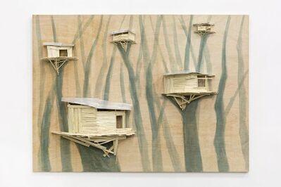 Tadashi Kawamata, 'Tree hut group n°4', 2018