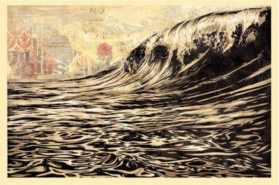 Shepard Fairey, 'Dark Wave ', 2010
