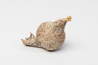 FIONA WATERSTREET, 'Drawn Bird with Gold Ball #1', 2019