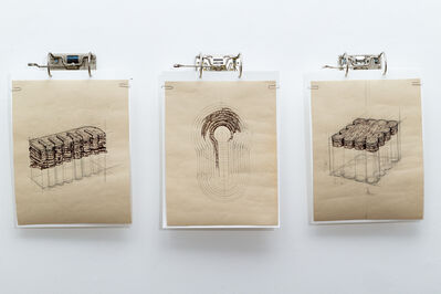 Cally Shadbolt, 'Untitled Drawings 5-7', 2015