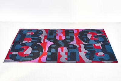 Heimo Zobernig, 'Carpet Rug', 2015